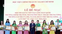Đánh giá 5 năm thực hiện Đề án 'Xây dựng và phát triển Trường Chính trị tỉnh Nghệ An'