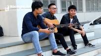 """Ba chàng sinh viên người Nghệ gây """"sốt"""" với bản cover """"Cô gái Nghệ An - M52"""""""