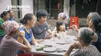 Món ăn sáng 2000 đồng hấp dẫn ở Diễn Châu