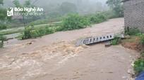 Ngập lụt, sạt lở đất tiếp tục diễn ra ở Thanh Hóa, Nghệ An