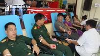Con Cuông: 500 người tham gia hiến máu tình nguyện