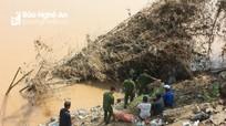 Phát hiện thi thể thanh niên trôi dạt trên sông Lam