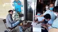 4 cửa hàng tại Nghi Lộc bị xử phạt trên 20 triệu đồng vì không chịu đóng cửa