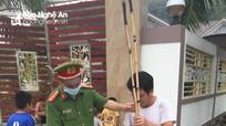 Người đàn ông ở Nghệ An bị phạt vì sử dụng kích điện để bắt cá