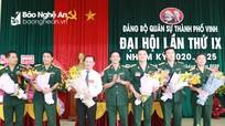 Đại hội Đảng bộ Quân sự TP. Vinh nhiệm kỳ 2020 - 2025