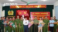 Khen thưởng 5 chuyên án thu giữ 54 kg ma túy dạng đá ở Nghệ An