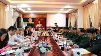 Tổng kết phong trào thi đua yêu nước khối Nội chính - Lực lượng vũ trang Nghệ An