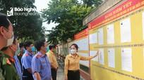 Chủ tịch Ủy ban Mặt trận Tổ quốc tỉnh kiểm tra công tác chuẩn bị bầu cử tại Trại tạm giam