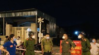 Thị xã Hoàng Mai xử phạt 16 trường hợp trong ngày đầu thực hiện Chỉ thị 16