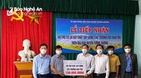 Các nhà máy thủy điện hỗ trợ huyện Tương Dương xây dựng các trường bán trú