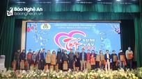 Công đoàn Viên chức Nghệ An tổ chức 'Tết sum vầy - Kết nối yêu thương'