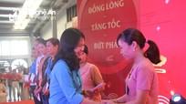 Liên đoàn Lao động huyện Đô Lương tham dự chương trình Tết Sum vầy cùng người lao động