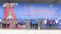 Liên đoàn lao động phát động Tháng Công nhân 2021 tại Nghĩa Đàn
