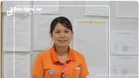 Người 'chị cả' của hàng ngàn công nhân may ở quê lúa Yên Thành