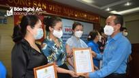 Nhiều hoạt động chăm lo cho đội ngũ y, bác sỹ tuyến đầu chống dịch