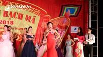 Nữ sinh lớp 12 đạt giải Nhất cuộc thi Người đẹp Lễ hội Đền Bạch Mã