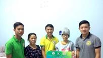 Đồng hương xứ Nghệ ở Huế bán bánh gai giúp đỡ sinh viên bị bệnh ung thư