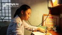 Gặp nữ sinh Đô Lương đạt điểm 10 duy nhất toàn tỉnh bài thi tổ hợp