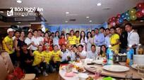 Xúc động cuộc gặp mặt thứ 16 Hội đồng hương Nghệ An ở Đài Loan