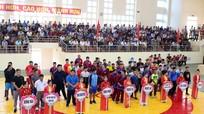 100 VĐV tham gia giải Vô địch vật dân tộc toàn quốc lần thứ 22 tại Nghệ An