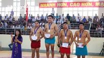 48 huy chương đã được trao tại Giải vô địch vật dân tộc toàn quốc