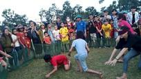 Sôi động trò chơi dân gian vui Tết Trung thu ở quê Nhút
