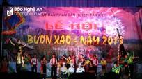Một phía miền Tây Nghệ An tưng bừng vào hội Bươn Xao