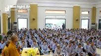 Chấn chỉnh một số hoạt động tín ngưỡng tại cơ sở thờ tự Phật giáo