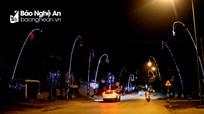 Lung linh những cung đường nêu ngày Tết ở Nghệ An