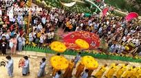 Hàng vạn người về dự Đại lễ cầu an đầu Xuân tại chùa Cổ Am