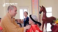Lễ mừng thọ tập thể cho 167 cụ tuổi chẵn ở Chùa Gám