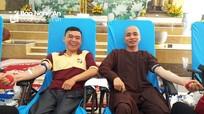 Chùa Viên Quang tổ chức ngày hội hiến máu tình nguyện