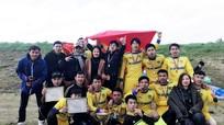 Đội bóng đồng hương Nghệ An vô địch giải Ichiyou Cup tại Nhật Bản