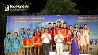Nghệ An giành 4 bộ huy chương tại giải Vô địch cầu mây bãi biển toàn quốc