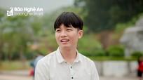 Thủ khoa trường huyện ở Nghệ An với bí quyết 'ba bước học'