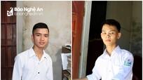 Hai nam sinh có hoàn cảnh đặc biệt và ước mơ giảng đường đại học