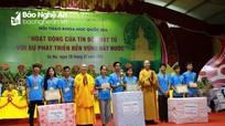 Đoàn thanh thiếu niên phật tử Nghệ An đạt giải Ba hội trại 'Tuổi trẻ và Phật giáo'