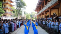 Nhiều chùa ở Nghệ An đồng loạt tổ chức đại lễ Vu Lan thu hút hàng nghìn phật tử