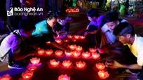 Lung linh đêm thắp nến tri ân lễ vu lan tại chùa Đại Tuệ