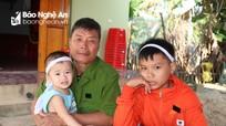 Bạn đọc báo Nghệ An chung tay chia sẻ hoàn cảnh khó khăn của 2 em bé mồ côi ở Nam Đàn