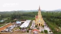 Giám mục Giáo phận Vinh dự khánh thành nhà thờ giáo họ Trang Bồn