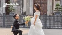 Xúc động đám cưới của 'chàng trai tí hon' quê Nghệ An
