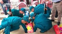 An táng hài cốt liệt sỹ hy sinh tại Campuchia