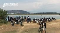 Tìm thấy thi thể nam sinh lớp 7 bị đuối nước trên sông Lam