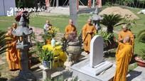 Lễ thỉnh bia cổ hàng trăm tuổi và công bố nhập tự chùa Giáp Vinh