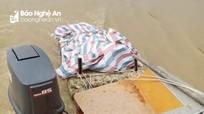 Phát hiện thi thể 1 người phụ nữ trôi dạt vào bãi sông Lam