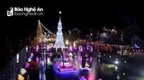 Những công trình Giáng sinh độc đáo nhất Nghệ An