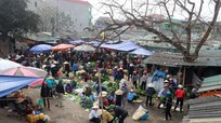 Thân thương hình ảnh chợ quê ngày giáp Tết ở Nghệ An