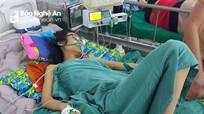 Gia cảnh khó khăn của nữ sinh bị bồn nước đè dập phổi, gãy xương đùi