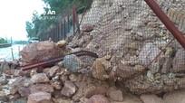 Cận cảnh núi Nguộc tiếp tục bị sạt lở mạnh